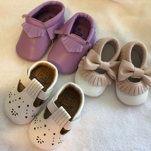 Other - Adorable Just Like New 3 Pairs Baby Shoes